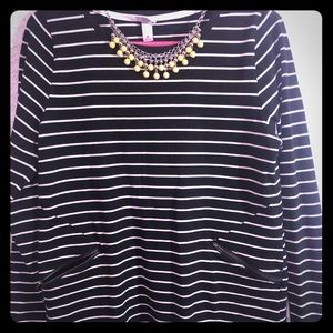 Black & White Stripe Shirt